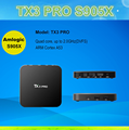 TX3 pro set top box set top box remote controlamlogic S905 1g 8g Android 6.0