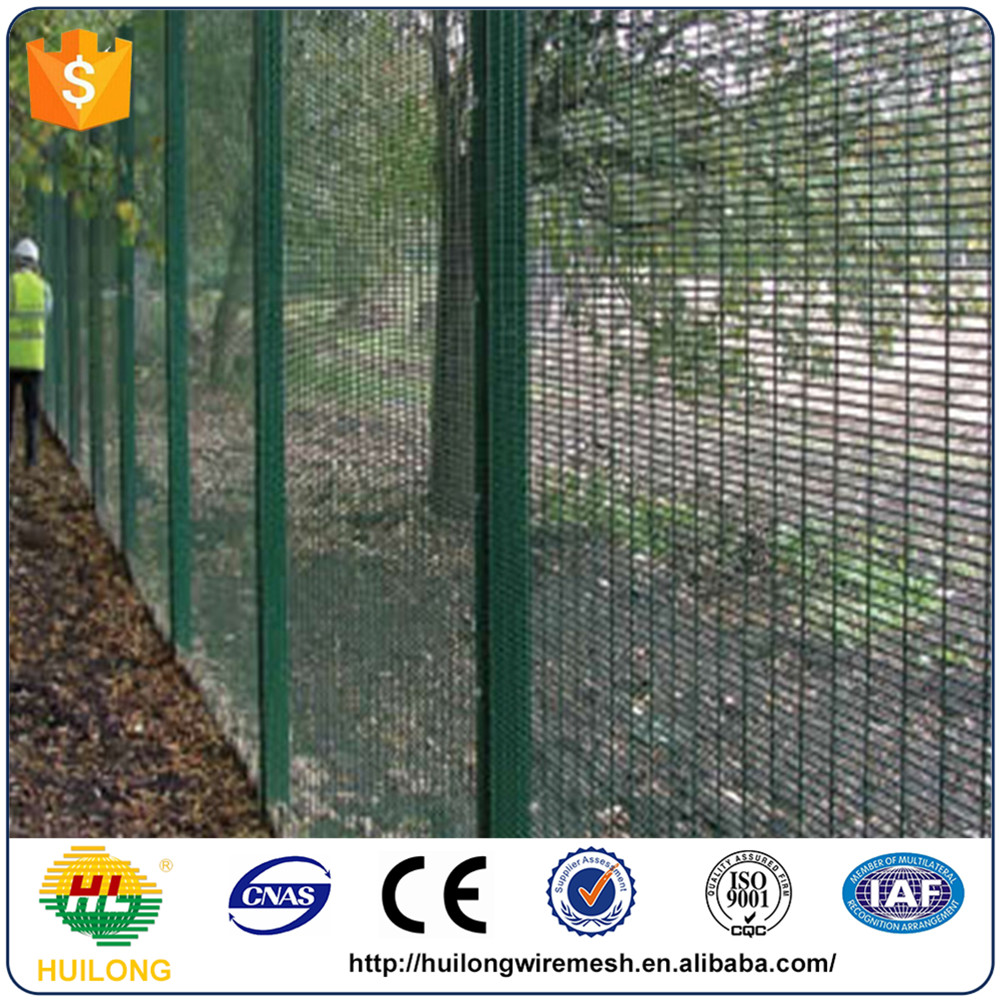 358 high security fence /anti climb cut fence /prison military fence