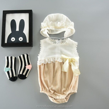 monroo vintage stylish fashion girls romper chinese baby clothes