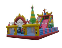 large jumping castle/outdoor commercial funcity/inflatable air zone