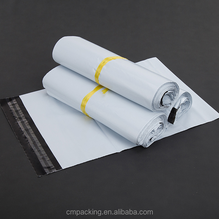 Popular Custom A4 white Poly Mailer Bags for Ecommerce