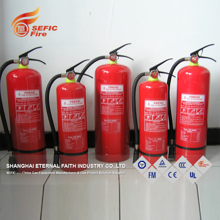 Valve Equipped Empty Fire Extinguisher Dry Powder Fire Extinguisher