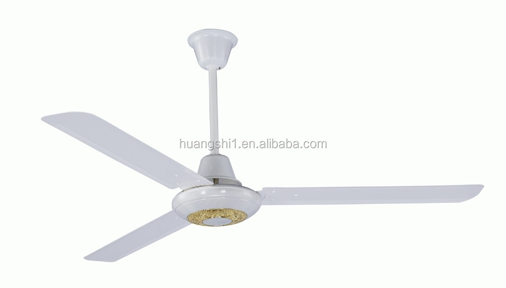 Solar Powered 12V DC AC Electric Home Use Ceiling Mounted Air Cooling Fan Without Light