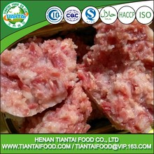 Salt Preservation Canned Minced Mutton Meat Packing In Carton