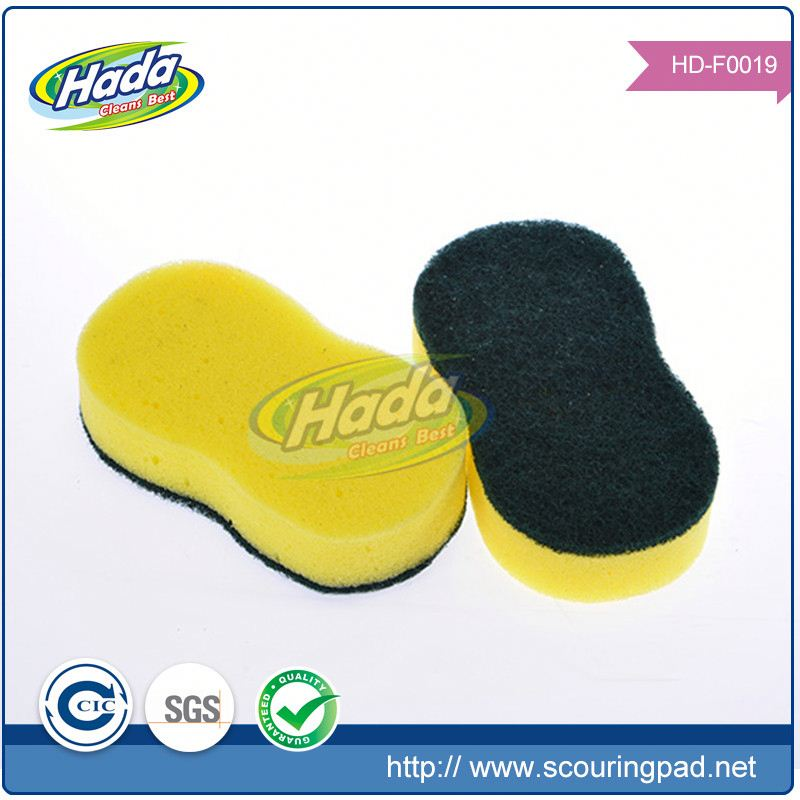 Daily necessities kitchen sponge scourer for plate