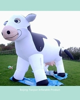 High Quality cartoon animal inflatable cow