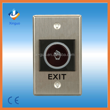 No touch door Exit button for access control