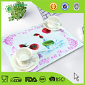 Customization 3D printed one piece silicone placemat for kids