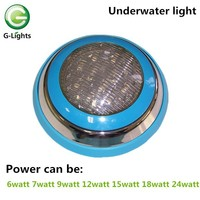 12v multi color swimming and fountain pool RGB LED underwater light