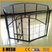 Dog kennel fence panel for playpen