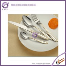 QT00092 hotel stainless steel spoon and fork unbreakable cheap china tableware
