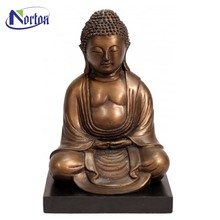 Casting antique brass sitting buddha statue for sale NTBS-323Y