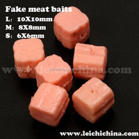 Coarse Carp Fishing Fake Imitation Bait Artificial Luncheon Meat