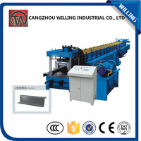 hot sale in China wholesale alibaba profile roll forming machine c z shaped purlin roll form machine