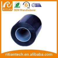 heat resistant silicone rubber film blue pet tape from china supplier free sample