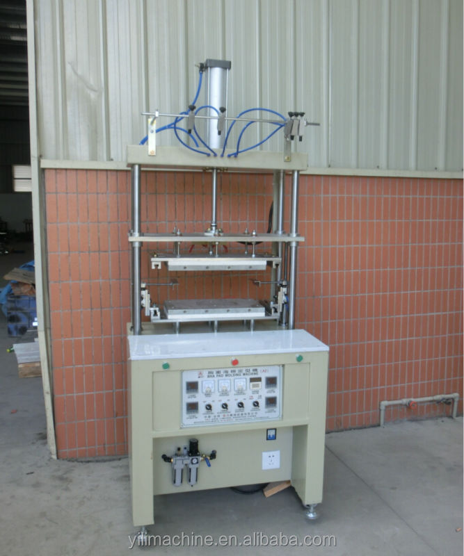 A2-6 Bra Molidng Machine with cover (Single mold)
