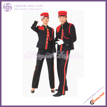 Mao collar of Hotel bellboy bellman doorboy doorman Uniform