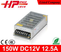 High efficiency constant voltage single output ac dc 150W lcd tft color monitor 12v power supply