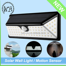 Factory Price 5W Wall Pack Motion Sensor Lamp Solar Wall Light