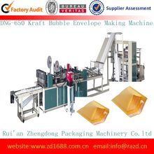 Kraft paper,Co-extruded,Pearl film,PEfilm,aluminum-plated steel Bubble Envelope DNG-800F Making Machine (Double Line)