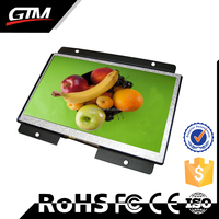 "10.1"" Indoor Lcd Digital Signage Sd Card Audio Player Lcd Display Open Frame Mini Usb Media Player Ad Sign Retail Kiosk"