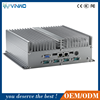 OEM core i7 home theater home theater pc, industrial fanless 2 lan ports pc, mini-itx computing cae made in China