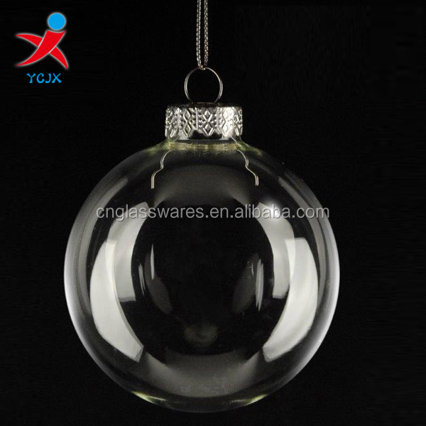 Clear glass ball ornaments buy clear glass ball for Crafts for clear glass ornament balls