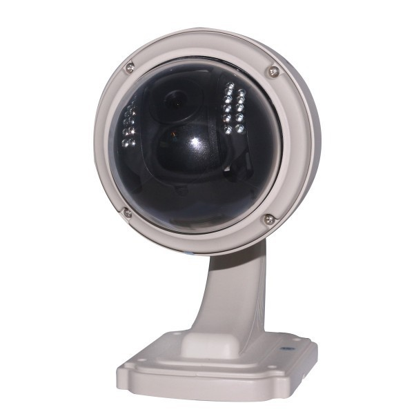 Plug&Play wanscam HW0038 Small outdoor pan tilt Wireless&Wired cctv vandalproof ip camera