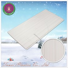 Parallel Curves Coarse Touch Surface Treatment Ceiling Material in Office PVC Ceiling Panel