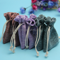 wedding party favor jute bags for goodies wholesale