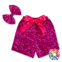 2016 Sequin Shorts For Baby Girl Western Style Boutique Baby Sequin Shorts Colorful Shiny Sequin Pants