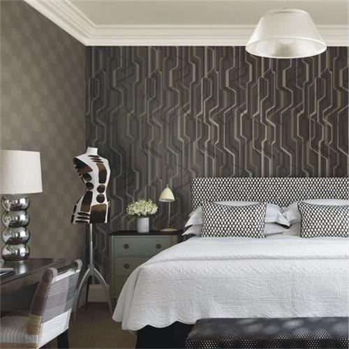 Natural eco-friendly wallcovering for baby room media room