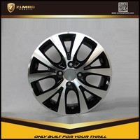 ZUMBO F6653 Replica Alloy Wheels With Matt Black Machine Face