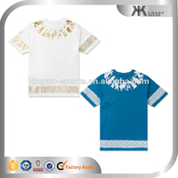 Latest design fancy cotton printed mens short sleeve t shirts