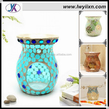 Glass Tealight incense mosaic candle burner /mosaic candle holder/mosaic incense bottle