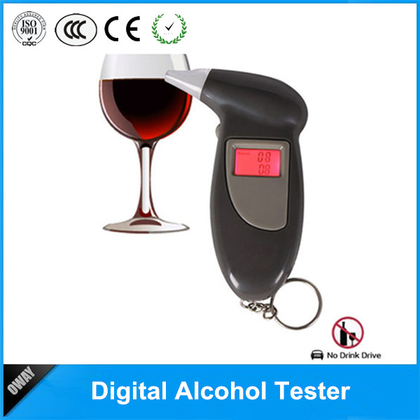 Keychain alcohol test strips