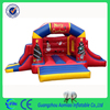 Wholesale commercial inflatable bouncer combo wet dry inflatable slide bouncer combo for sale