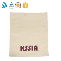 Wholesales Cheap Promotional Organic Cotton Muslin drawstring Bags With Label