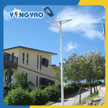 12v DC LED Solar Street Lights With 6M Pole Design