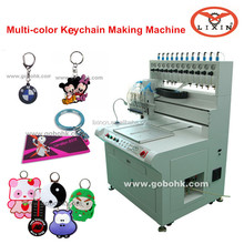 HF soft pvc key chain making machine, key ring dispensing machine production line