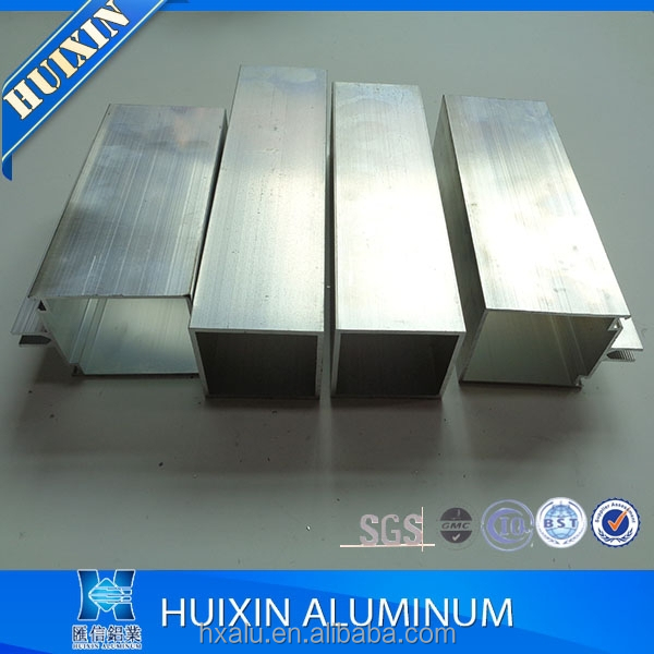 factory hot sale strong aluminium curtain wall profiles for glass