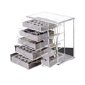 Custom cheap transparent large acrylic jewelry storage boxes