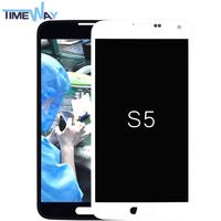 Factory Cheap oem price for samsung s5 lcd from blue star(without home button)