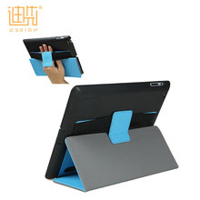 2017 New design PU+PC Material foldable soft easy carrying tablet case accessory cover for For Ipad 2/3/4