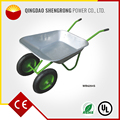 Small MOQ Alibaba Express Large Capacity Construction Aluminum Wheelbarrow