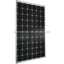 A grade cell high efficieny PV module mono solar panel black 250w