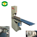 Manual jumbo toilet paper band saw cutting machine