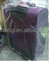colorful waterproof pe cover for luggage bag cover plastic bag