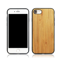 2018 best selling PC + TPU wood phone case for iphone 7/ 8 / 6s
