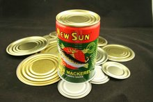 High Quality Empty Tin Cans/Tin Cans For Food Canning Fish/Tall Round Tin Can